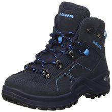 Lowa Unisex-Kinder Kody Iii GTX Mid J Trekking-& Wanderstiefel, Blau (Navy/Türkis 6969), 35 EU