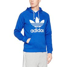 Adidas Sweater Men TREFOIL HOODY BR4189 Royalblau, Größe:L