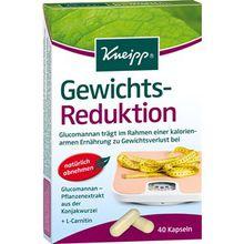 Kneipp Gesundheit Nahrungsergänzung Gewichts-Reduktion 40 Kapseln 1 Stk.