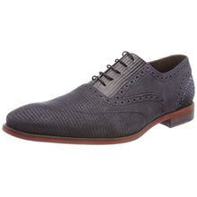 Floris van Bommel Herren 19114 Oxfords, Grau (Dark Grey), 44 EU (9.5 UK)