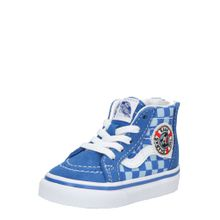 VANS Sneaker 'TD SK8-Hi Zip' blau / weiß
