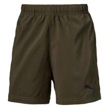 PUMA Shorts dunkelgrau / khaki
