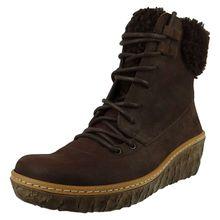 EL NATURALISTA Schuhe Damen Keil-Stiefelette N5139 MYTH YGGDRASIL Brown Braun Schnürstiefeletten braun Damen