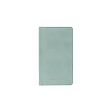 HORIZN STUDIOS Travel Wallet - Feinstes italienisches Leder - Marine Green