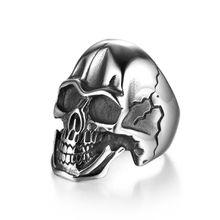 """Ring Edelstahl """"Skull"""""""
