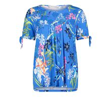Betty Barclay Rundhals-Shirt mit Aufdruck blau-kombi Damen