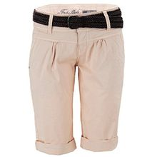 Fresh Made Damen Shorts Chino Bermuda Hose Gürtel Gr 40 L rosa