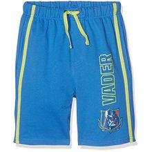 Star Wars Jungen Shorts 79403, Bleu (Bleu), 116