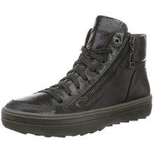 Legero Mira 700852, Damen High-Top Sneaker, Schwarz (Schwarz 00), 38.5 EU (5.5 UK)