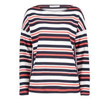 Betty Barclay Casual-Sweatshirt mit Streifen blau Damen