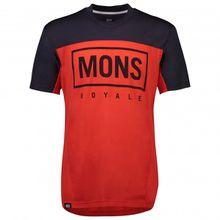 Mons Royale - Redwood Enduro VT - Radtrikot Gr L;M;S;XL grau/schwarz;rot/schwarz;blau