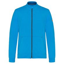 TAO Sportswear Freizeitjacke Herren aus Bio-Baumwolle PIT Sweatjacken blau Herren