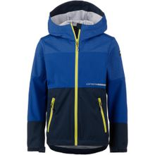 ICEPEAK Funktionsjacke 'Timber Jr' blau / dunkelblau / neongelb