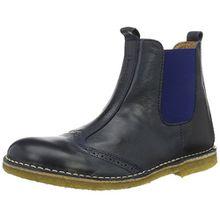 Bisgaard Mädchen Stiefel Chelsea Boots, Blau (601 Blue), 26 EU