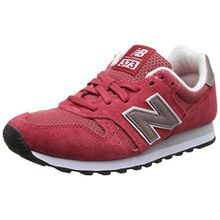 New Balance Damen 373 Suede Sneakers, Rot (Red), 38 EU