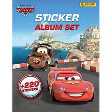 Buch - PANINI Sticker-Album-Set Cars,  inkl. 220 Sticker