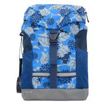 VAUDE Kinderrucksack 34 cm 'Pecki 10' blau / hellblau / grau
