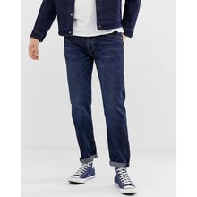 Levi's - 502 - Schmal zulaufende Jeans in regulärer Passform, in dunkler Pauper-Waschung - Blau