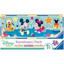 Holzsteckpuzzle 5 Teile Disney Babys
