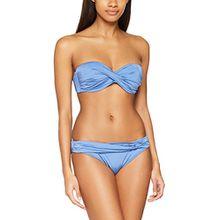 Lascana Damen Bikinioberteil Bügel-Bandeau-Bikini, Blau (Light Blue 17), 38
