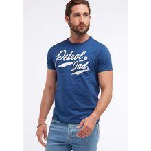 Petrol Industries T-Shirt hellblau Herren