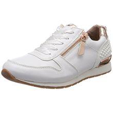 TOM TAILOR Damen 4894106 Sneaker, Weiß (White), 37 EU