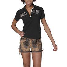 Stockerpoint Damen Poloshirt Shirt Rana, Schwarz (Schwarz), 40