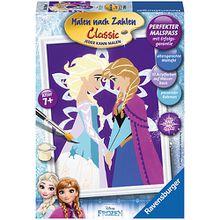 Malen nach Zahlen Disney Die Eiskönigin Winter Magic