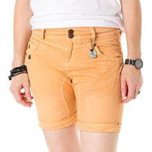 KHUJO Damen Shorts Teja with Belt peach W28