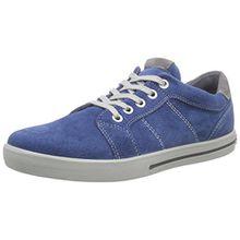Ricosta Roy, Jungen Sneakers, Blau (Petrol 145), 34 EU (2 Kinder UK)