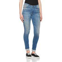 Diesel Damen Skinny Jeans Skinzee, Blau (Light Blue 0679W), W29/L32