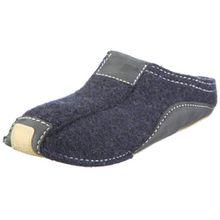 Haflinger Pocahontas, Unisex-Erwachsene Pantoffeln, Blau (Kapitän 79), 37 EU