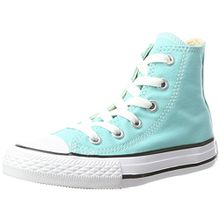 Converse Unisex-Kinder CTAS Hi Canvas Seasonal Hohe Sneaker, Türkis (Light Aqua), 28 EU
