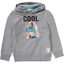 Pullover mit Kapuze NITIBUS  grau Jungen Kinder