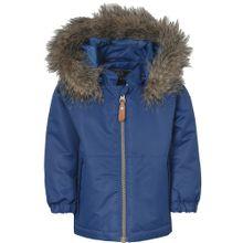 COLOR KIDS Winterjacke 'DELVI' blau / braun