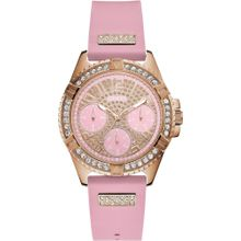 GUESS Uhr 'Lady Frontier, W1160L5' rosegold / pink
