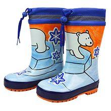 maximo Warm Gefütterte Gummistiefel Polar-Bär für Jungen Schuhgröße 22