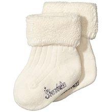 Sterntaler Unisex Baby Socken - Söckchen uni, Gr. 16, Beige (ecru 903)
