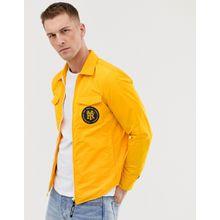 Replay - Costumized - Trainingsjacke mit Symbol-Print hinten - Gelb