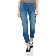 Mavi Damen Skinny Jeans Lexy, Blau (Mid Brushed Ultra Move 22602), W25