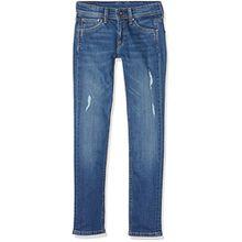 Pepe Jeans Jungen Cashed Jeans, Blau (Denim), 12 Jahre