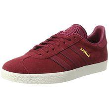 adidas Damen Gazelle Sneakers, Schwarz (Collegiate Burgundy/Mystery Ruby F17/Gold Met.), 43 1/3 EU