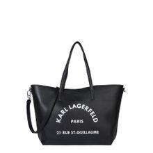 Karl Lagerfeld Shopper 'rue st guillaume tote' schwarz