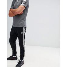 adidas Originals - Superstar - Schwarze, enge Jogginghose mit Bündchen - cw1275 - Schwarz