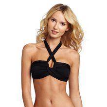 Seafolly Damen Bikinioberteil Goddess, Gr. 36 (Herstellergröße: 10) Schwarz (Black)