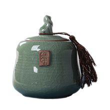 Chinesische Stil Keramik Tee Kaffee Zuckerbehälter mit Deckel Große Geschenke