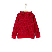 S.Oliver RED LABEL Sweatshirt rot / schwarz