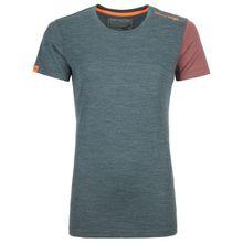 Ortovox - Women's 185 Rock'N'Wool Short Sleeve - Merinounterwäsche Gr L;M;S;XL;XS rot;grau;rot/rosa