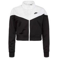 Nike Sportswear Heritage Trainingsjacke Damen schwarz/weiß Damen