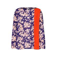RENÉ LEZARD Bluse 'H026S' blau / rosa